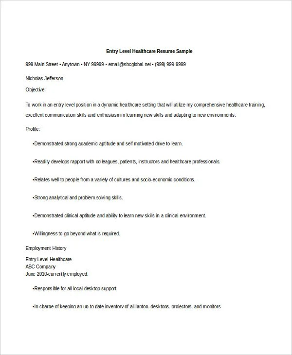 Healthcare Administration Resume Thebridgesummit Healthcare Resume Sample Healthcare  Administrator Resume   Sample Healthcare Manager Resume