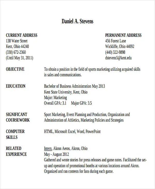 business administration resume objective 28 Business - business administration resume objective