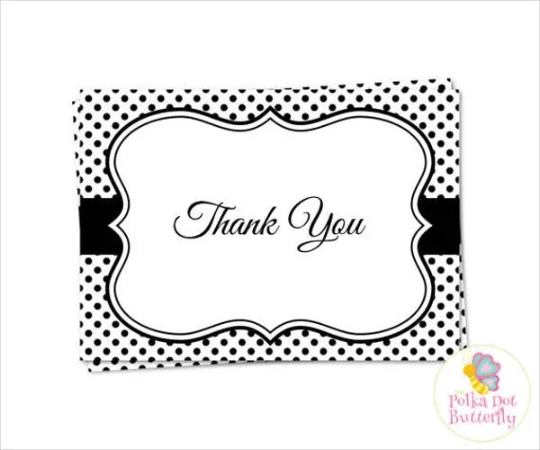 70+ Thank You Card Designs Free  Premium Templates