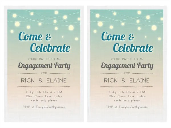 20+ Free Engagement Invitations -Free PSD,Vector AI,EPS Format - free engagement party invites