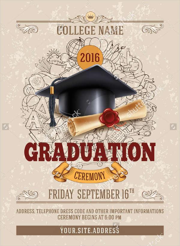 High School Graduation Program Covers