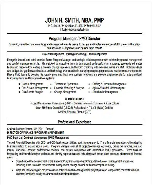 22+ Education Resume Templates - PDF, DOC Free  Premium Templates - program director resume