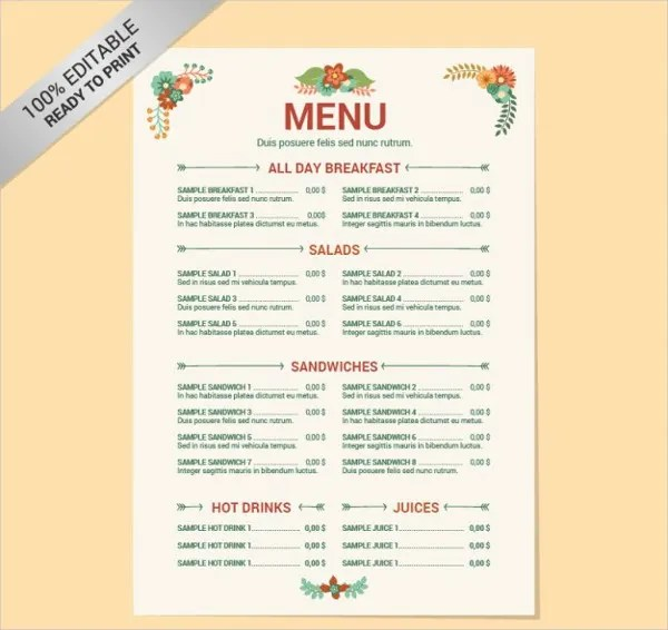 menu list - Goalgoodwinmetals - menu