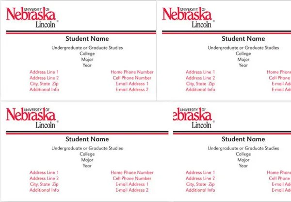 Free Business Cards Alumni Association Of The University Of