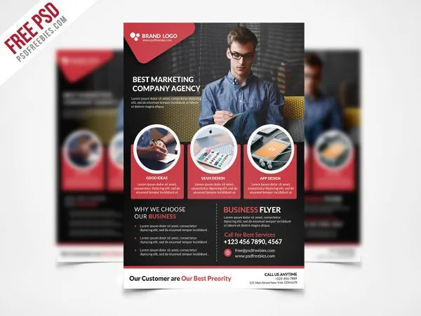47+ Free Flyer Templates Free  Premium Templates - free business flyers templates