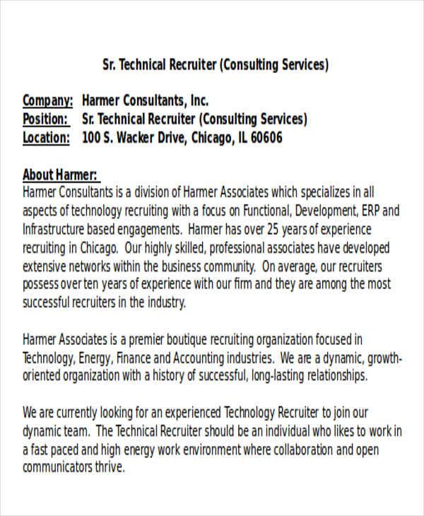 associate recruiter resume cvresumeunicloudpl