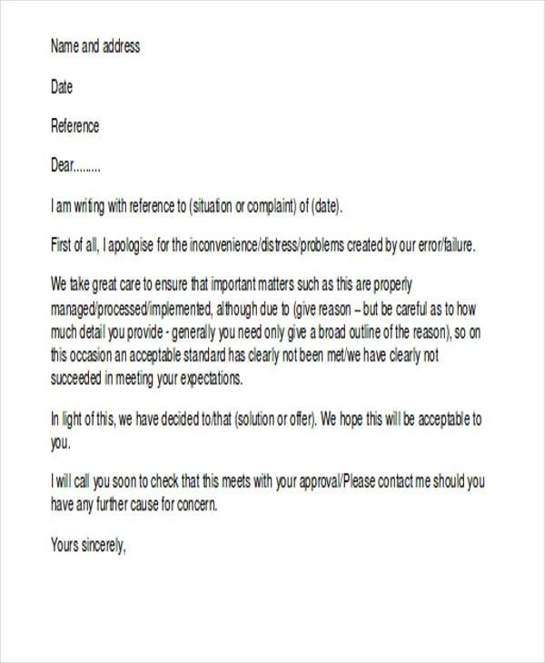 34+ Complaint Letter Templates Free  Premium Templates