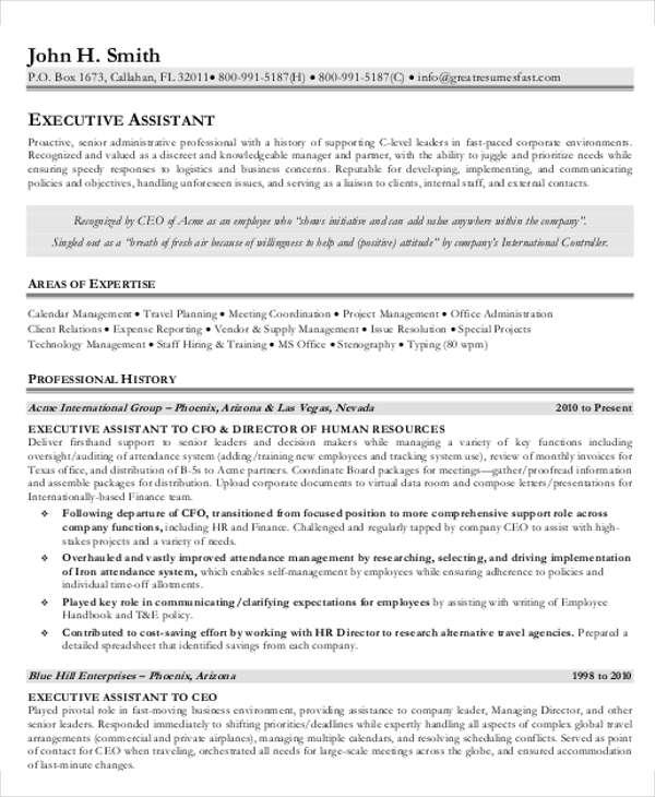 25+ Finance Resumes in PDF Free  Premium Templates - finance executive resume