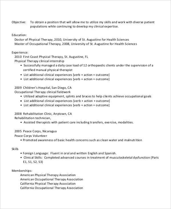 25+ Generic Work Resume - PDF, DOC Free  Premium Templates