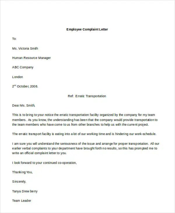 61+ Formal Letter Format Template Free  Premium Templates