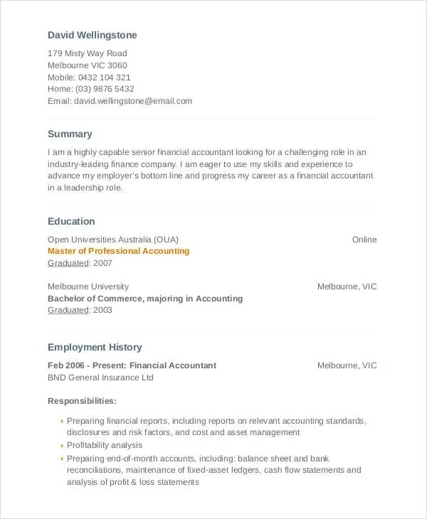 Fixed Asset Accountant Sample Resume Example Fixed Asset Accountant - Fixed Asset Accountant Sample Resume