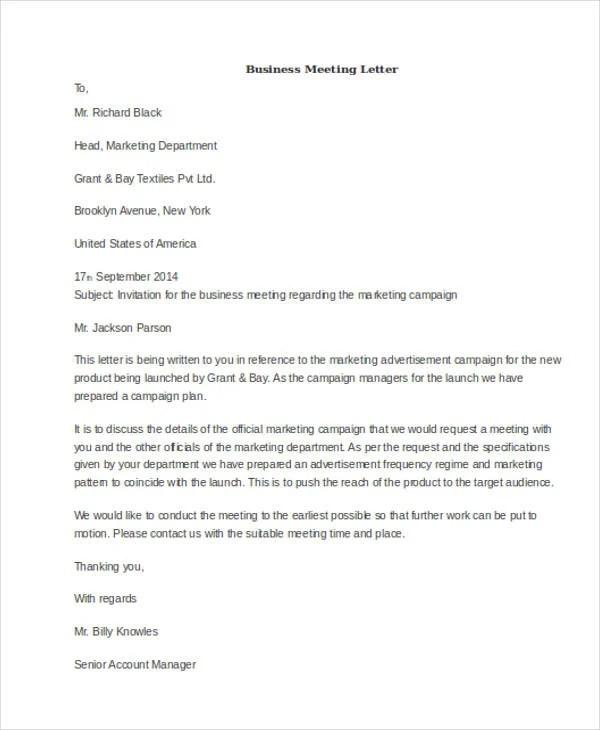 Invitation Letter For Netball Meeting Best Custom Invitation