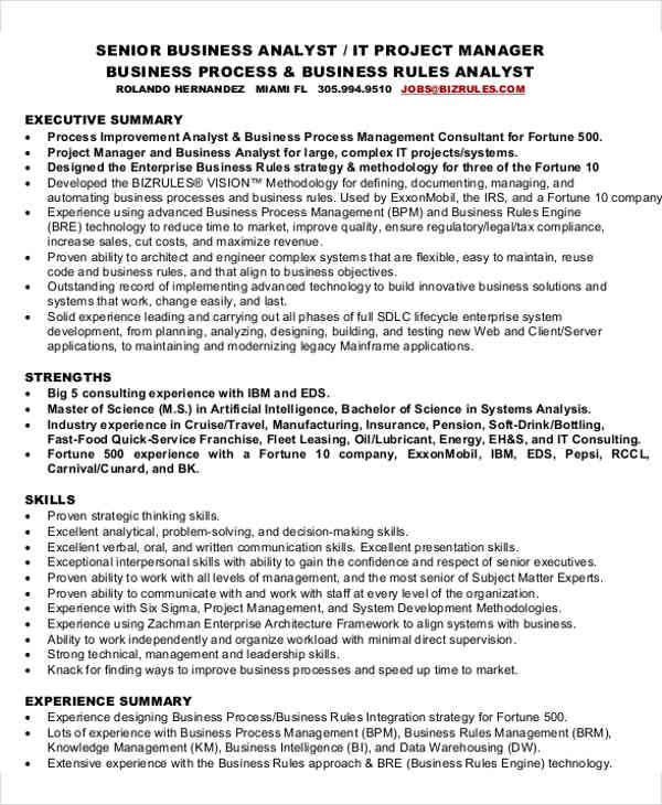 25+ IT Resume Design Templates - PDF, DOC Free  Premium Templates