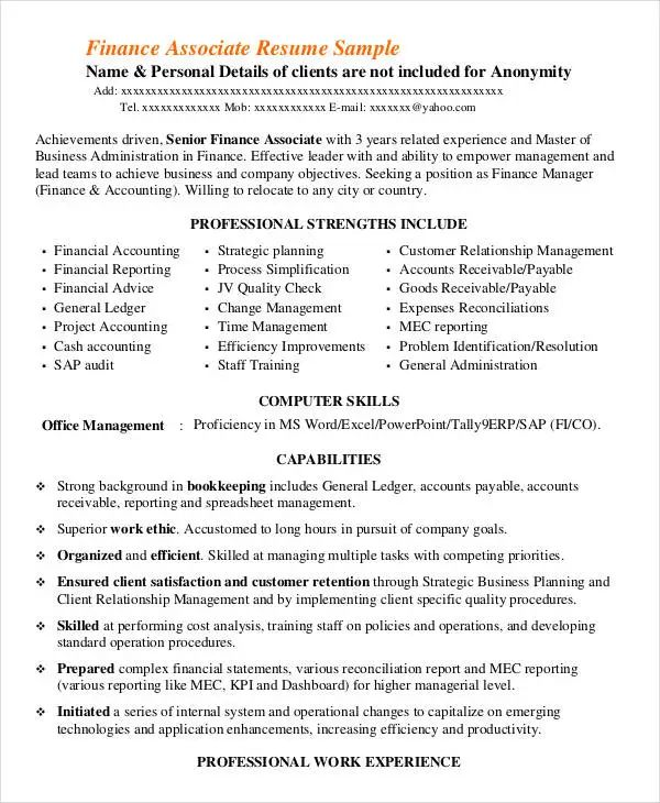 director level resume templates