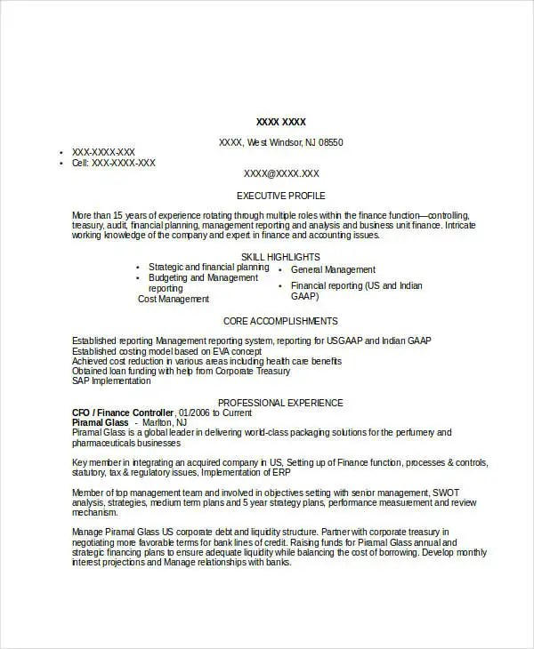 treasury specialist sample resume node2001-cvresumepaasprovider