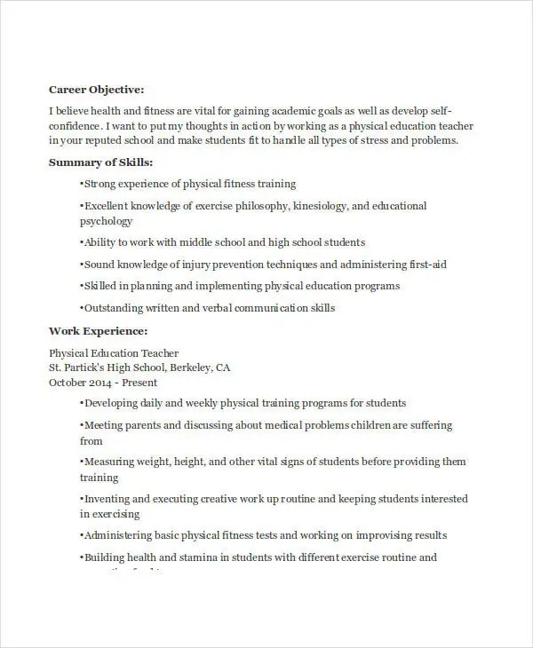 sample educational audiologist resume template elementary teacher - middle school resume