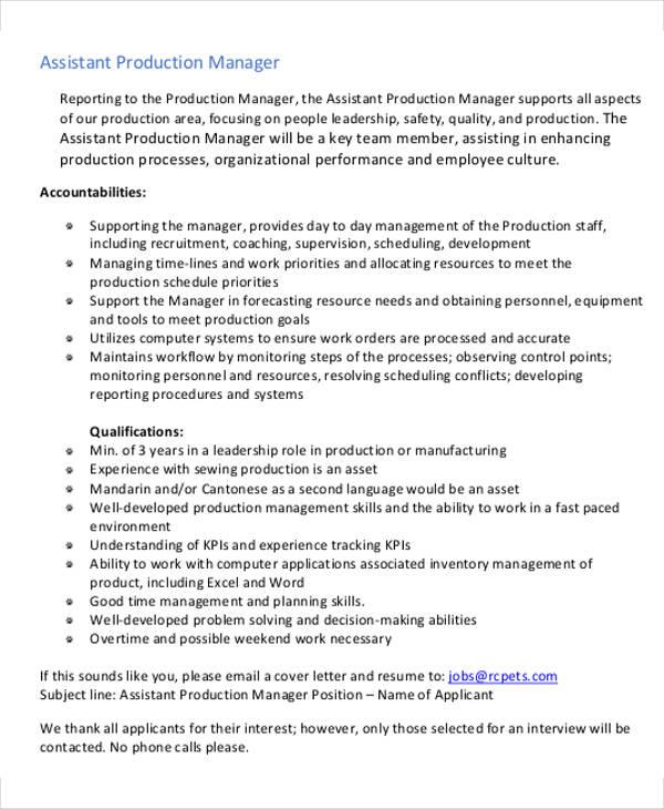 54 Manager Resumes in PDF Free  Premium Templates