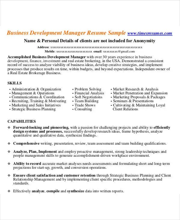 54 Manager Resumes in PDF Free  Premium Templates - research and development manager resume