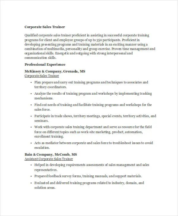 Essay Help Online- Get Assignments, Dissertations, Term Papers - corporate trainer resume