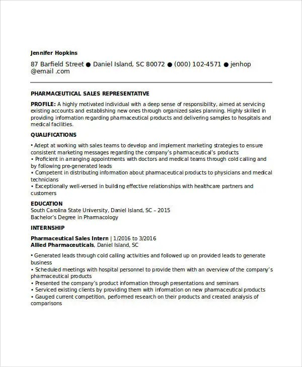 entry level pharmaceutical sales cover letters This page contains a sample cover letter for entry level pharmaceutical sales position.