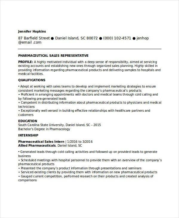 18+ Professional Sales Resume Templates - PDF, DOC Free  Premium