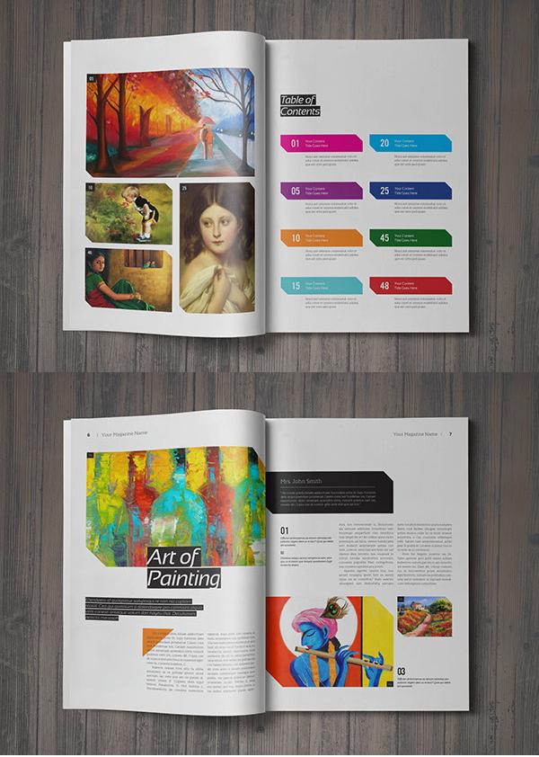 9+ Best Art Magazine Templates Free  Premium Templates