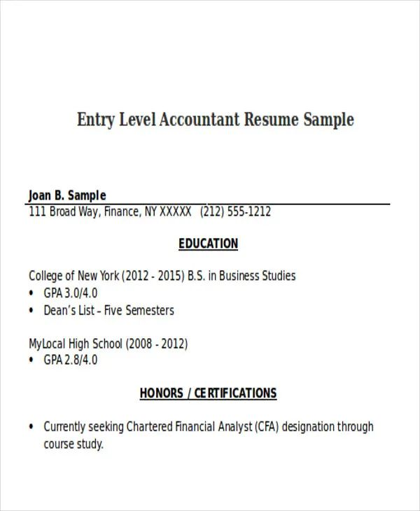 resume with photo sample doc
