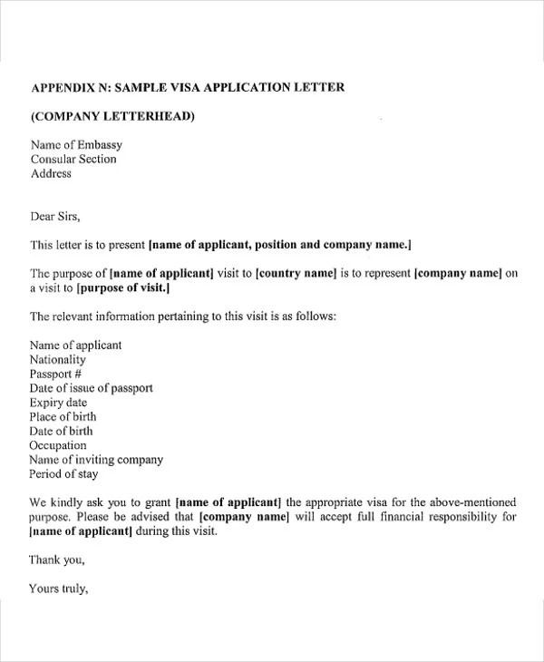 41+ Application Letter Templates Format - DOC, PDF Free  Premium