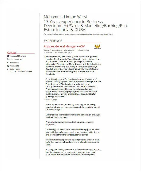 Banking Resume Samples - 45+ Free Word, PDF Documents Download - help with resume wording