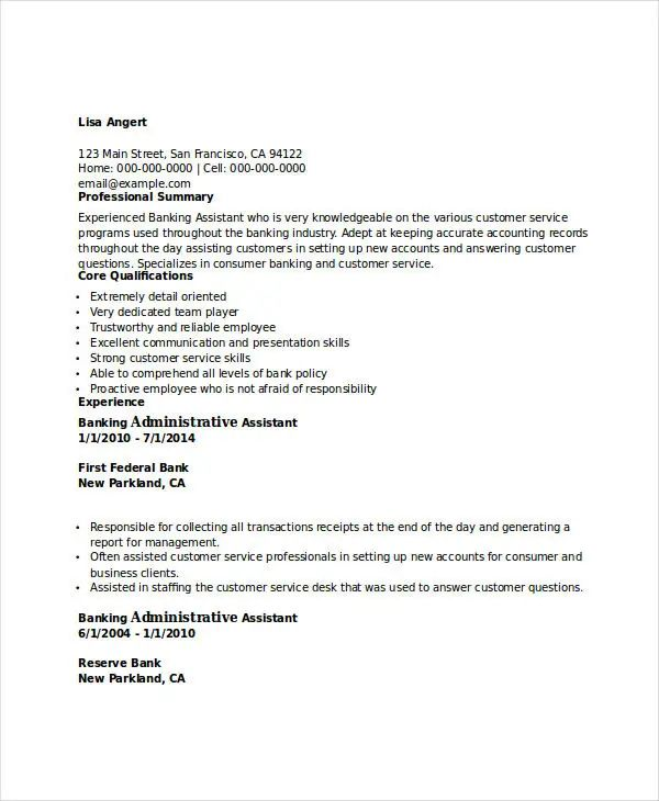 resume for apply job