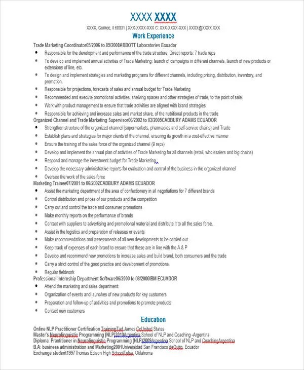 jack of all trades resume