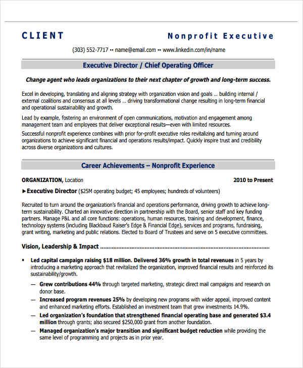 Board Of Director Resume Board Of Directors Resume Samples Visualcv - grants officer sample resume
