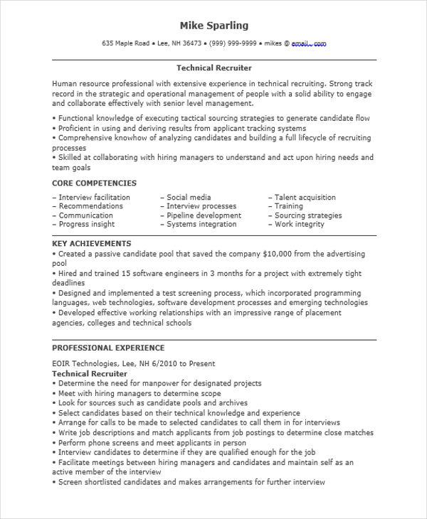 resume for job doc