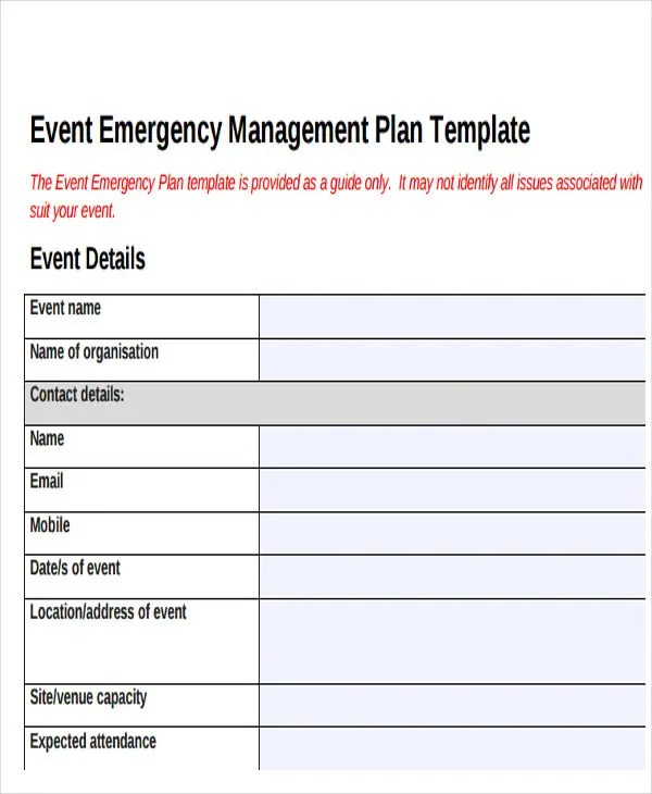 19 Event Plan Templates in PDF Free  Premium Templates