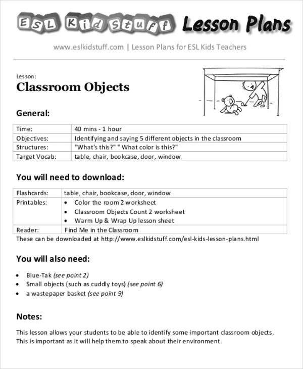 40+ Lesson Plan Templates in PDF Free  Premium Templates