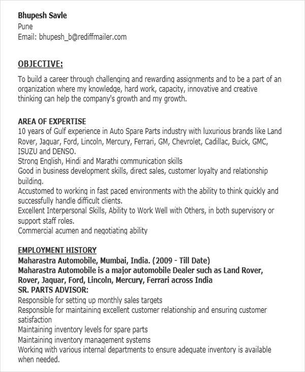32+ Modern Executive Resume Templates Free  Premium Templates - resume templates for executives