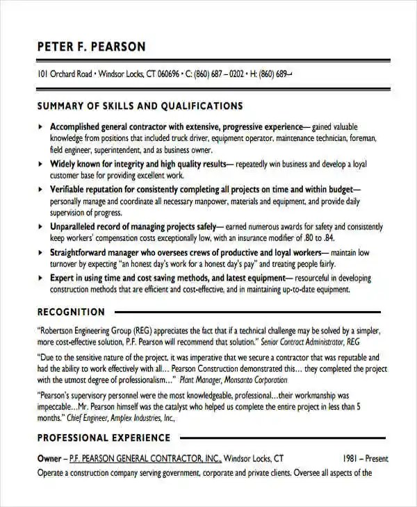 Objectives On A Resume 27+ Basic Work Resume Templates | Free & Premium Templates
