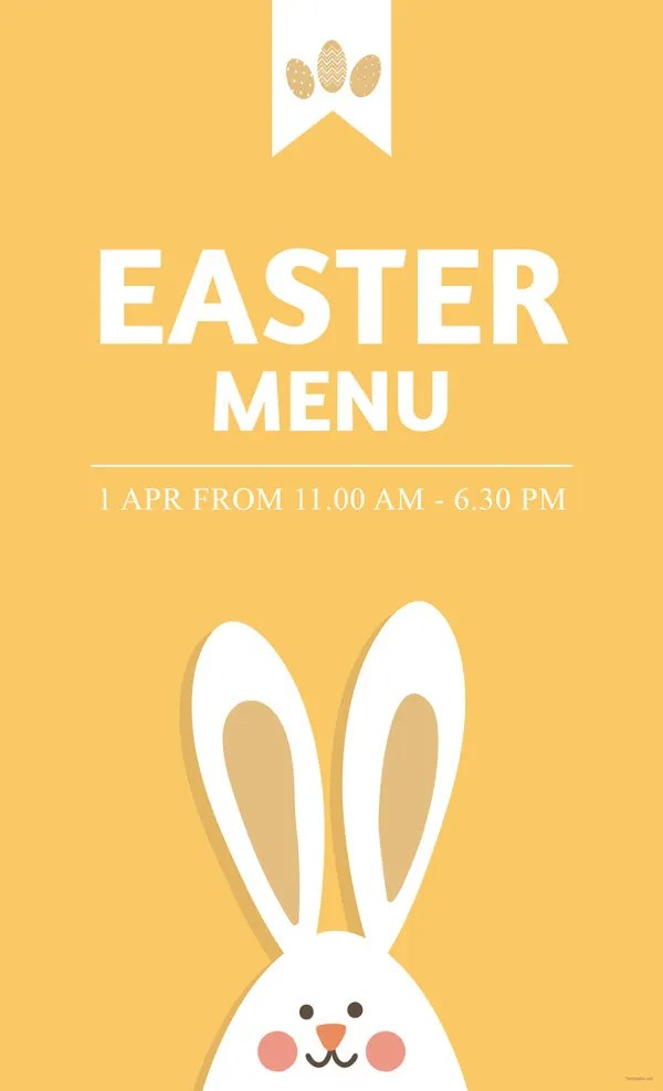 9+ Easter Menu Templates - Printable JPG, PSD, EPS Format Download - free printable religious easter cards