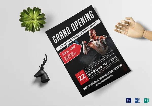 58+ Fitness Flyer Templates - PSD, Word, AI, EPS Vector Formats
