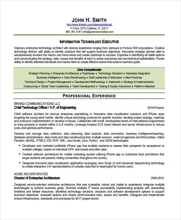 Software Architect Resume Software Architect Resume Samples - enterprise architect sample resume