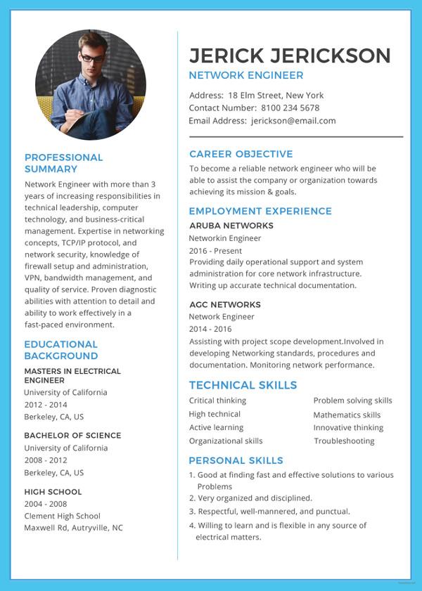 46+ Modern Resume Templates - PDF, DOC, PSD Free  Premium Templates - resume templat