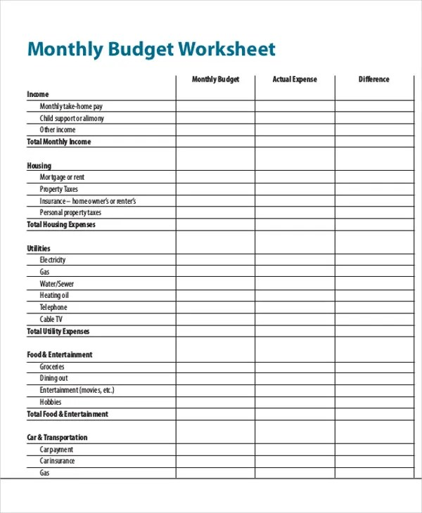 20+ Expense Report Samples Free  Premium Templates - personal monthly expense report template