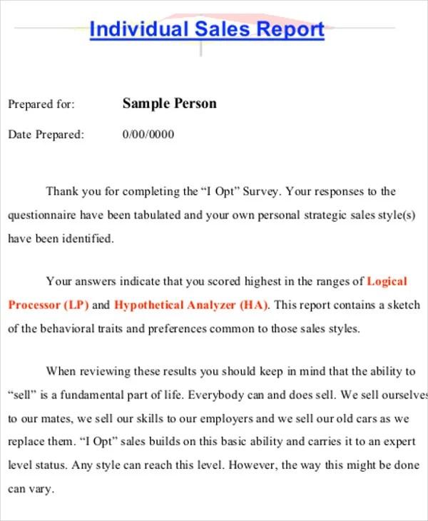 19+ Sales Report Samples Free  Premium Templates