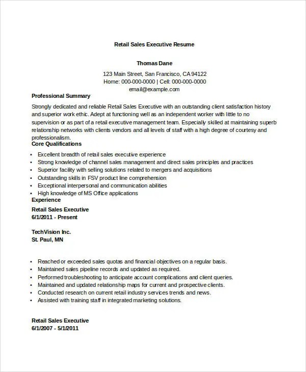 Direct Sales Executive Resume sample ceo resumes enterprise - direct sales resume