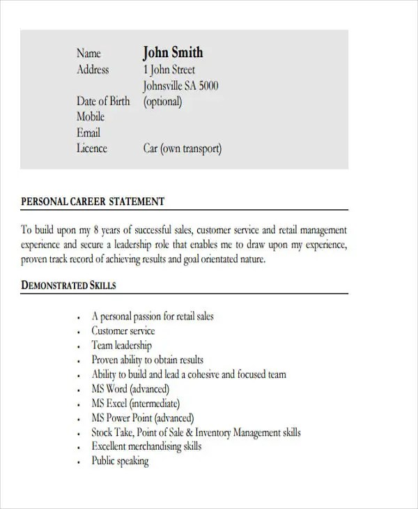 build my own resume