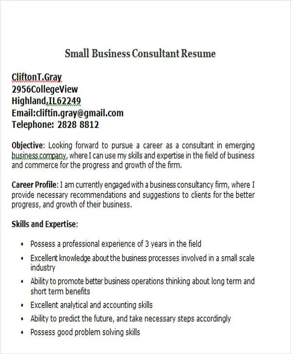 basic resume template 51 free samples examples format free short small business owner resume - Short Resume Template