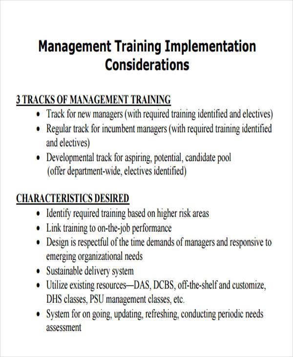 sample implementation plan template download