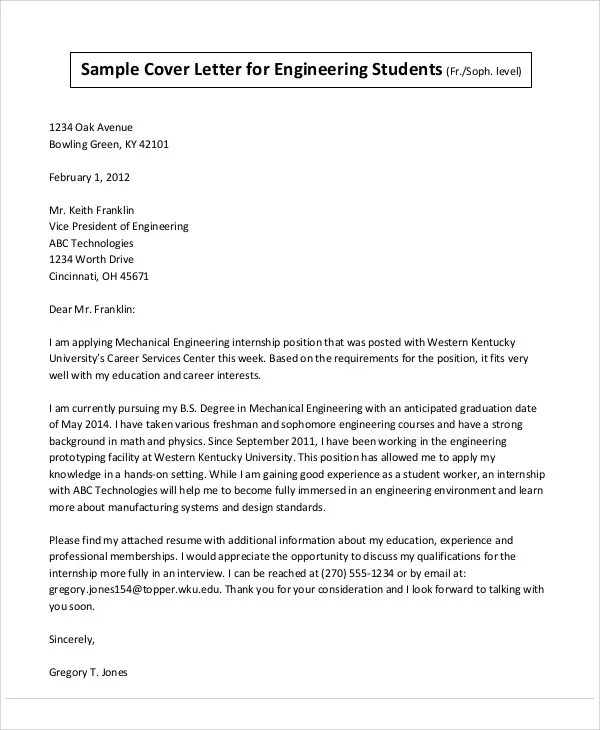 29+ Job Application Letter Examples - PDF, DOC Free  Premium