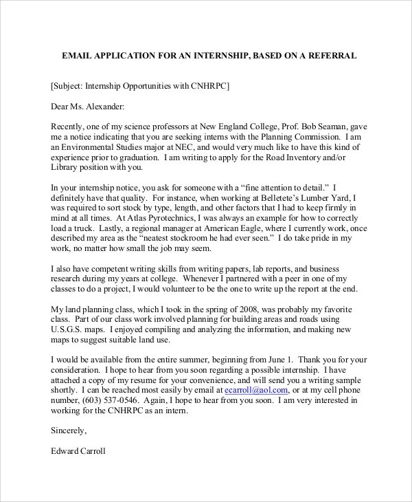 Sample Email Job Application Letter The Balance 9 Sample Email Application Letters Free And Premium Templates