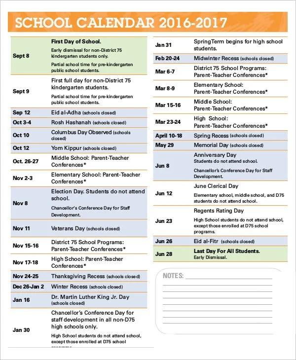 School Calendar Template Printable Workout Calendar Activity - attendance calendar template